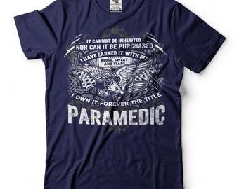 Paramedic T-Shirt Proud Paramedic Tee Shirt Gift For EMT Shirt