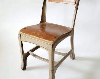 Vintage Kindergarten School Chair