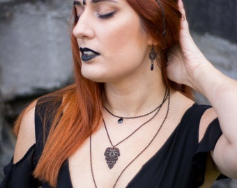 Gothic Charm Necklace