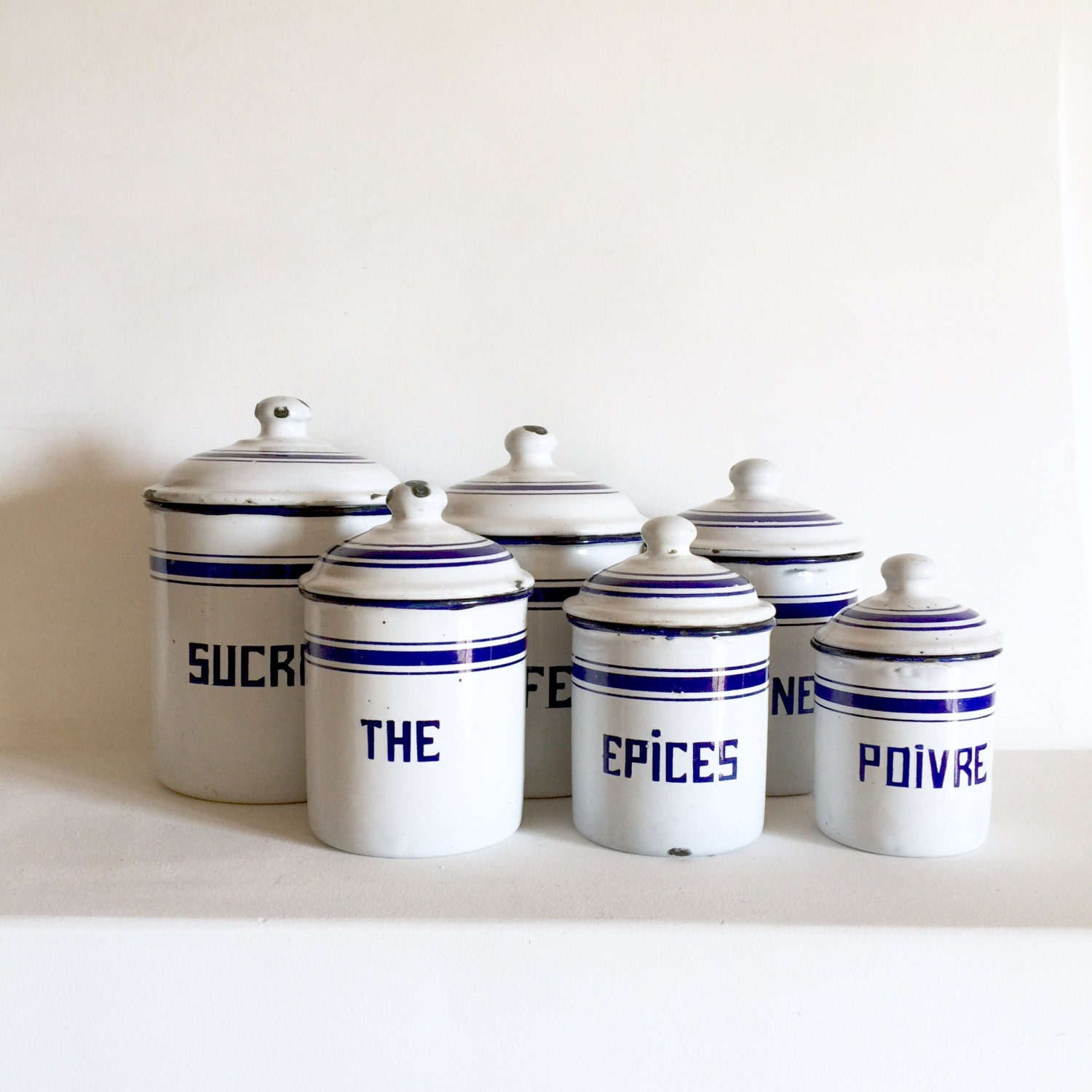 enamel kitchen canisters french antique enamel canisters french kitchen canisters 3995