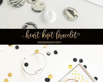 Silver Knot Bracelet Silver Tie the Knot Bracelet (EB3200)