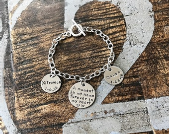 Foster Parent Bracelet Foster parent jewelry Foster Family gift Foster Parent Gift Foster Mom gift Foster care jewelry Guardian Parent Gift