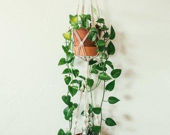 large double macrame plant hanger