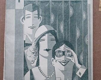 PLAYGOER Theater Magazine 1932, Pittsburgh PA, PHENOMENAL Ads!