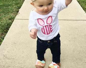Toddler Easter Shirt Kids Easter Shirt First Easter Outfit Easter Bunny Shirt Personalized Easter Shirt Baby Easter Outfit