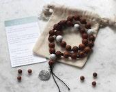 Labyrinth wearable prayer beads