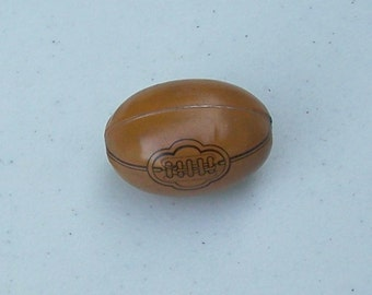 Vintage tin litho lithograph football candy container