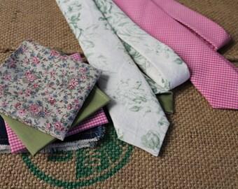 Romantic Spring Tie Combo