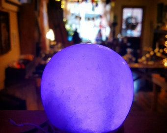 SALE~Changing Color Salt Lamp Sphere with USB