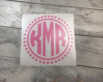 Monogram Car Decal Car Monogram Decal Car Sticker Vine - Monogram car decal sticker