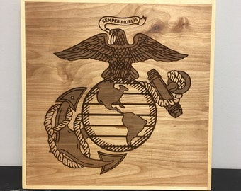 USMC Marine Corps Military Sign