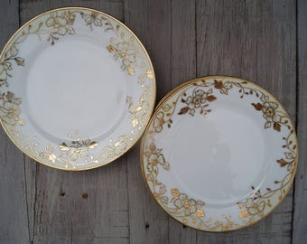 Spoke Nippon Hand Painted Plates (Set of 6) - Maruki Symbol - Japan