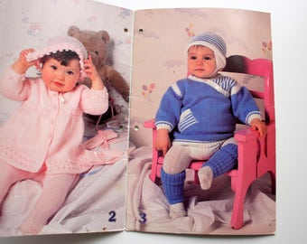 Patons 463 / Baby Sweaters / Knit Leggings / Knit Baby Clothes / baby Knit Clothes