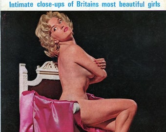 On Location Magazine  1967  Issue # 1  British Pinup Figure Models Actresses like Vicky Kennedy  Model June Palmer many gorgeous gals mature