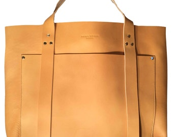 Patty XL Weekender bag, light brown