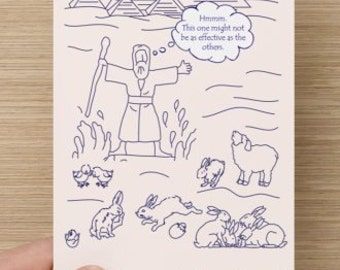Interfaith Passover/Easter Holiday Card