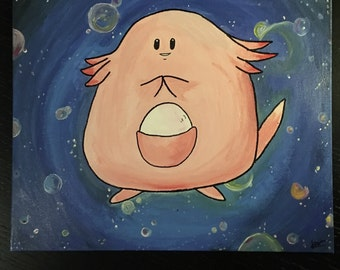 Chansey in Space(Canvas)
