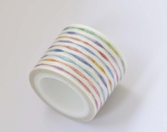 Colorful Washi Tape /Masking Tape 30mm (1.2 inches) Wide / 5 yards Long No. 12265