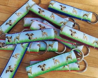 Keyring, Bag Charm - Whippet, Greyhound, Italian Greyhound