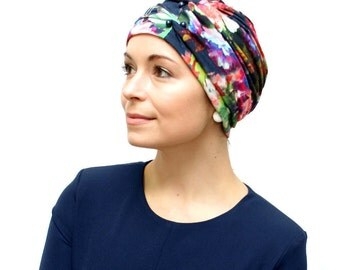 Chemo Hat | Turbans for Chemotherapy | Cancer Hat | Fashion Turban for Women's Hair Loss - stylish, handmade in UK, avail in sizes