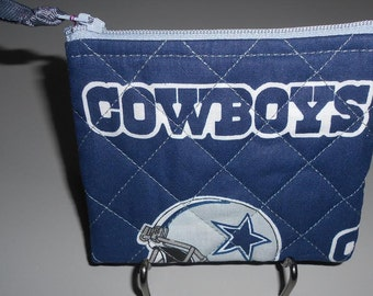 Coin Purse - Dallas Cowboys Fabric - CP199