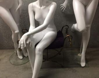 Reduced to Half Price - Seated mannequin ET Cranston/Almax