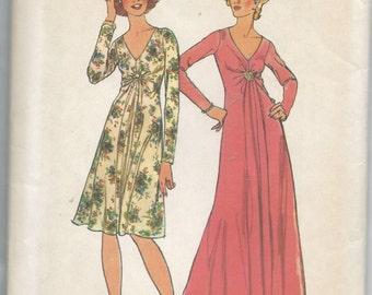 Simplicity 6563 Misses Dress Size 12 Bust 34