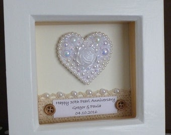 30th wedding anniversary gift 30th pearl anniversary gift pearl ...