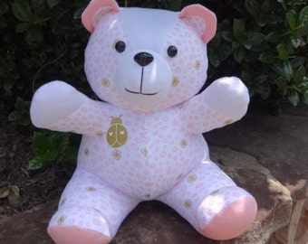 MINI Memory Bear / Keepsake Bear from an Adult Shirt or Baby Clothes **PLEASE Read the Listing Description for Detailed Information Needed**