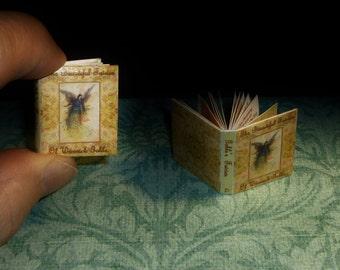THE BEAUTIFUL FAIRIES of Warwick Goble! Dollhouse Miniature Book, Lovely Little Art Book