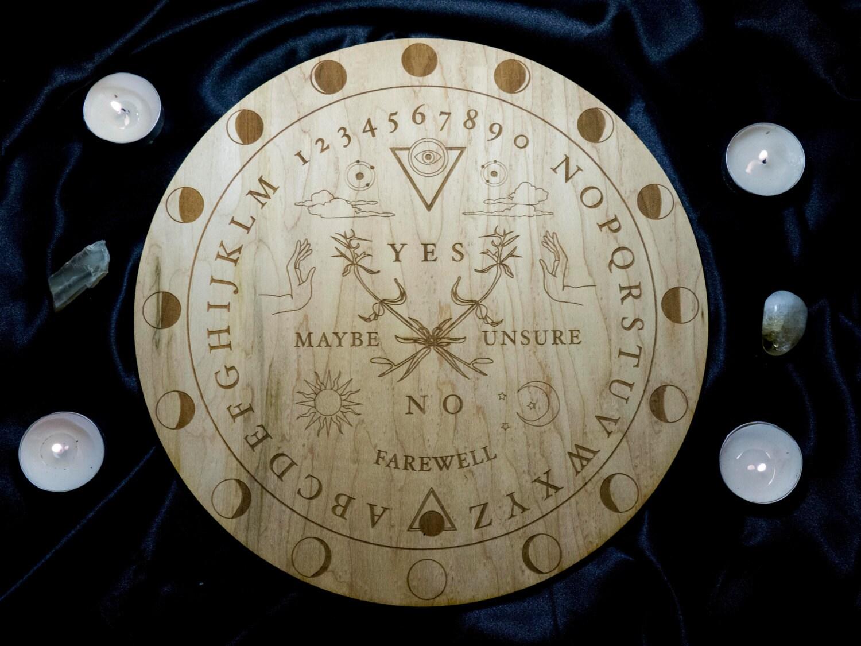 Ouija Board Coffee Table Ouija Board Etsy