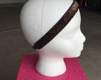 Coffee Glitter Headband