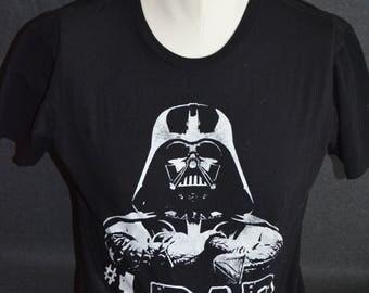 Vintage Star Wars Darth Vader #1 Dad Graphic T-Shirt (Size: L)