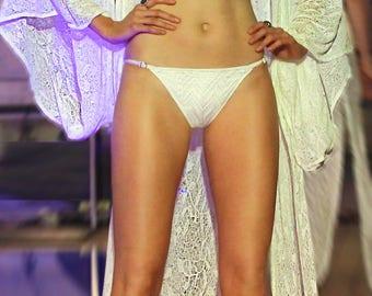 Snowflake triangle bikini