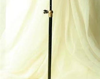 Iron Millinery Shopkeepers Hat Stand Wig Display