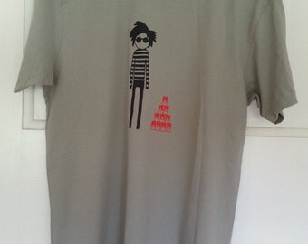 Andy Warhol Mens Tee in Oyster