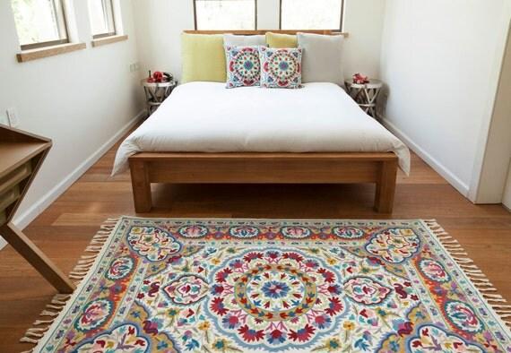 mandala rugfloral area rugs 4x6 area rug cool rugsrugs. Black Bedroom Furniture Sets. Home Design Ideas