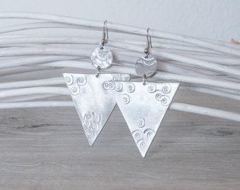 DANA craft handmade aluminum earrings