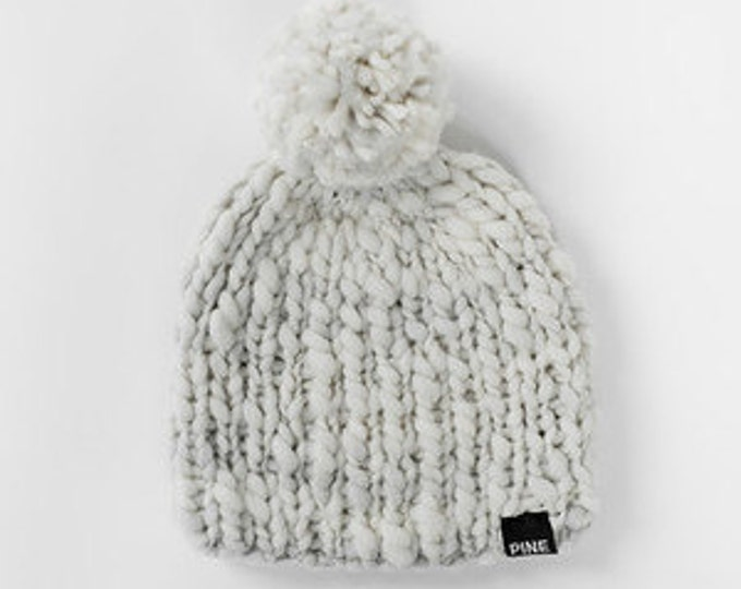 Thick n' Thin Merino Wool Beanie