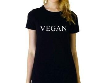 Vegan gift t shirt, vegan for animal rights, vegan shirt,animal rights shirt,vegan clothing,vegan top,vegan power,vegan fashion