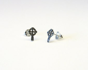 Celtic Cross node Celtic earrings Silver 925 earrings Celtic Cross