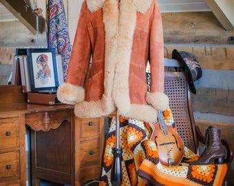Vintage 1970's Penny Lane sheepskin coat