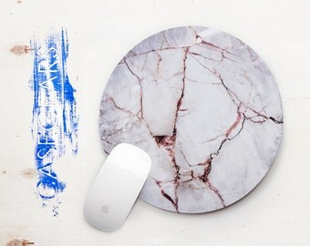 Stone Mouse Pads Mousepad Gray Marble Print Mouse Mat Mouse Pad Office Mousemat Rectangular Mousemat White Marble Print Mousepad CG5007