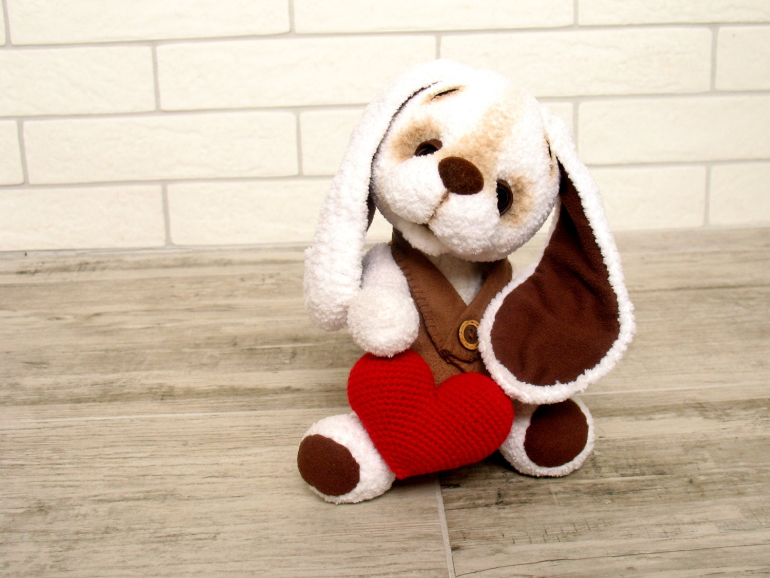 Valentine S Day Dog Toys : Valentines day plush toy stuffed puppy dog cute by