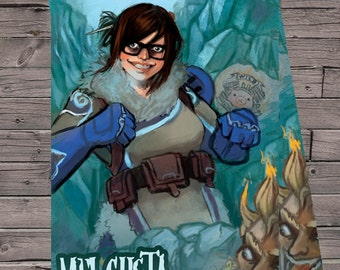 Overwatch Mei gusta Poster