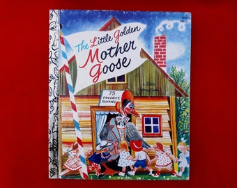 Vintage Little Golden Book ~ Mother Goose ~ 1981 print, 89c
