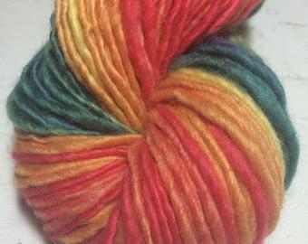 Handspun yarn: Arcobaleno - Handspun Art Yarn
