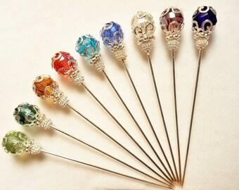 Crystal Hijab/Hat/Stick/Lapel Pins
