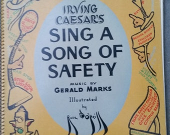 Irving Caesar's Sing a Song of Safey                                                                                        E027