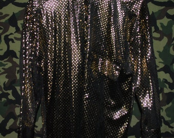 Disco Glitz Blouse